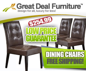 Highland Leather Dining Chairs with FREE SHIPPING