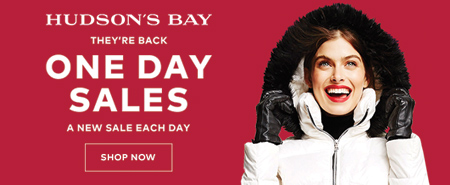 (11/13-12/22) One Day Sales at TheBay.com