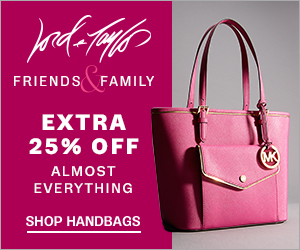 Get an EXTRA 25% OFF Select Designer Handbags during Friends & Family with code: FRIENDS.
