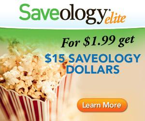For $1.99 Get $15 Saveology Dollars