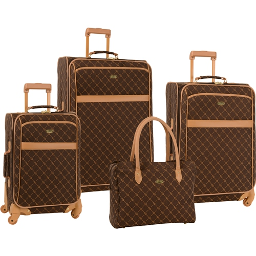 Travel Gear Orion 4 Piece Spinner Set - Now Only $175.47 Plus Free Shipping. Use Promo Code TGRN at checkout