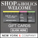 Gift cards from New York & Company