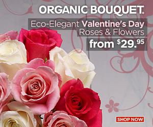 Fresh Eco-Elegant Valentines Day Flowers