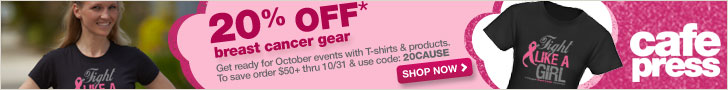 20% Off Breast Cancer Awareness Tees - 20Cause