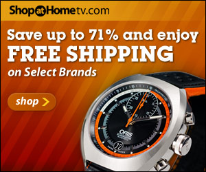 Famous Brand-Name Watches from ShopAtHomeTV.com