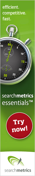 Searchmetrics Essentials - try now