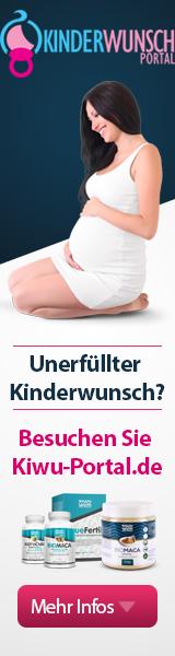 Banner - Kinderwunsch Portal www.kiwu-portal.de