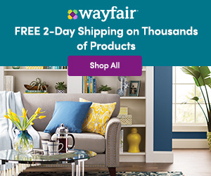Wayfair Free 2-Day Shipping on Thousands of Products