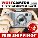 WolfCamera.com Free Shipping