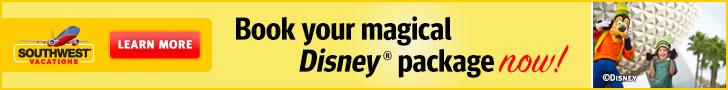 Walt Disney World FREE Dining Sale!
