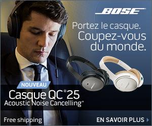 Livraison gratuite sur le Casque QuietComfortt® 25 Acoustic Noise Cancelling®