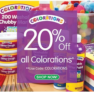 Save 20% On All Colorations Products - The Brand Teachers Choose & Get Free Shipping On Stock Orders