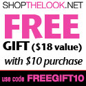 Free Gift with $10 Purchase
