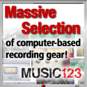 Computer Recording Gear at Music123.com