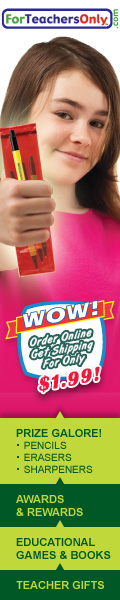 www.ForTeachersOnly.com - $1.99 shipping online!