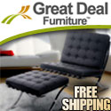 Petaluma Red Leather Club Chair - Free Shipping