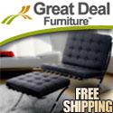 Petaluma Red Leather Club Chair - Free Shipping