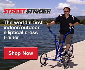 StreetStrider - The world's first indoor/outdoor elliptical cross trainer