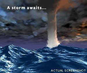 Free 3D Seastorm Screensaver