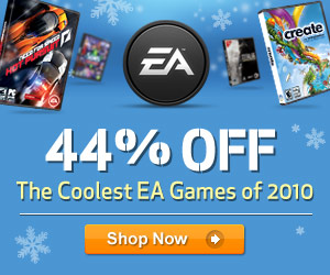 Save on EA Games this holiday season!