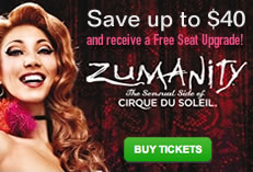 Zumanity by Cirque du Soleil - Save $40 on Tickets!