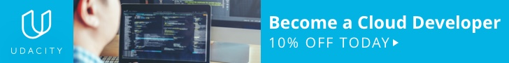 Upskill your career and get 10% off on a Udacity Nanodegrees Program