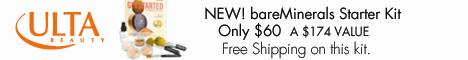 bareMinerals Starter Kit.  Only $60