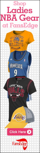 Shop official Ladies NBA gear at FansEdge!