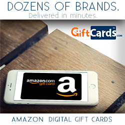 Virtual Amazon.com Gift Cards
