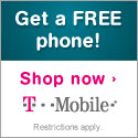 T-Mobile Free Slider Phone