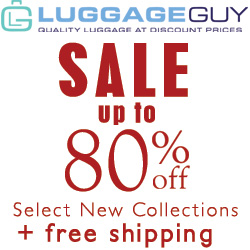 Luggage Guy Save up to 80% Free Shipping