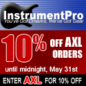 Save money with InstrumentPro special promotions.