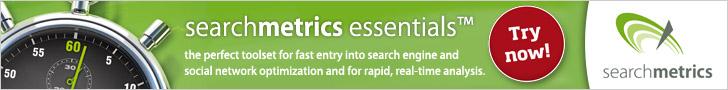 Searchmetrics Essentials - try now