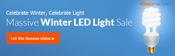 Celebrate Winter, Celebrate Light: Massive Winter LED Light Sale