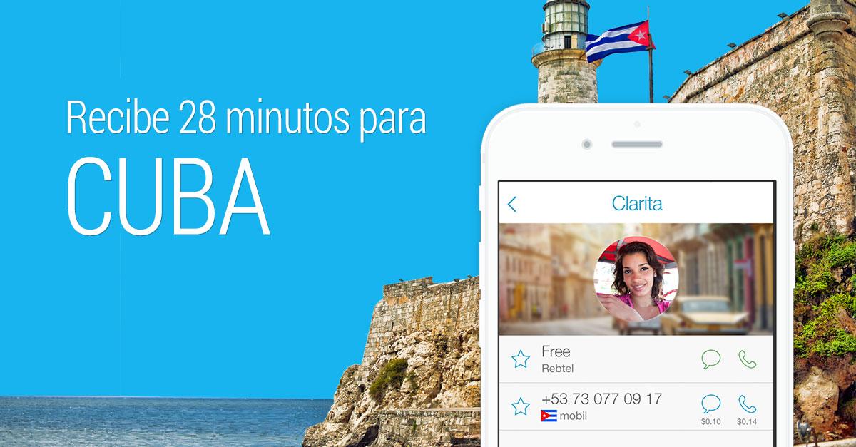 Llama a Cuba - 37.5 cents