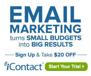 Get $20 Off of iContact