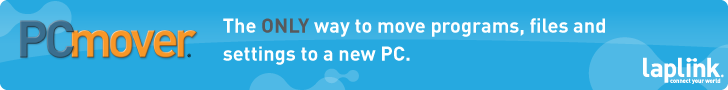 Move selected data from an old PC to a new one!