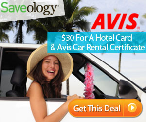 Hotel Card & Avis Car Rental