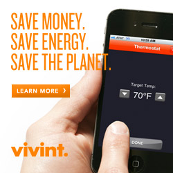 Vivint.  Save Money. Save Energy. Save the Planet