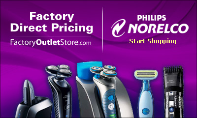 Free Shipping on Norelco Products!