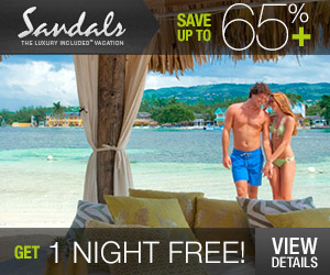 Complimentary Catamaran Cruise at Sandals Resorts!
