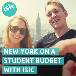ISIC Student Discount Cards
