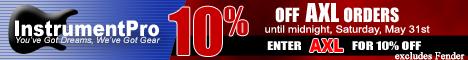 Save money with InstrumentPro.com special promos.