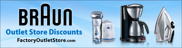 Free Shipping on Braun Products!