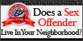 Discover if a sex offender is living right next door to YOU!