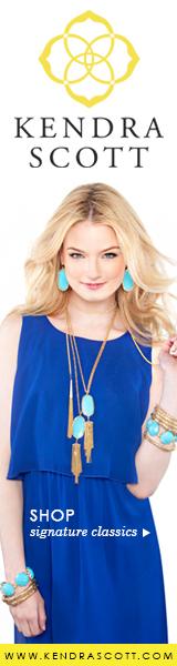 Kendra Scott Signature Turquoise 160X600