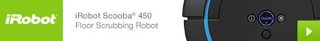 iRobot Scooba 450 Floor Scrubbing Robot