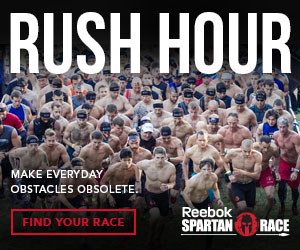 Rush Hour. Make Everyday Obstacles Obsolete! Register for a Reebok Spartan Race Today!