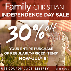 30% Off your entire purchase of regularly-priced items with coupon code LIBERTY