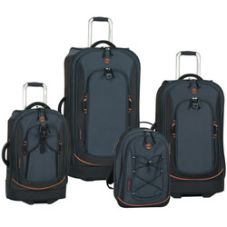 Holiday Special: Timberland Claremont 4 Piece Luggage Set Now Only $251.97 Org. $1,360.00 Plus Free Shipping Use Promo Code LGCL